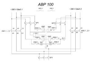 Автоматический ввод резерва АВР-100