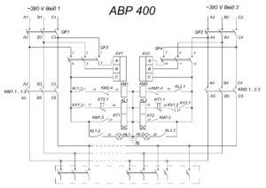 Автоматический ввод резерва АВР 400