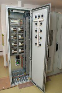 Курахово энергоблок ст. №9. Сборка питателей пыли. На базе оборудования Schneider Electric.
